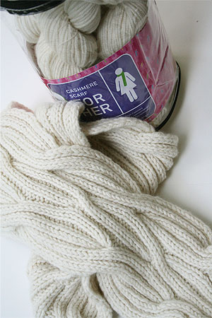 JADE SAPPHIRE KnitKits for Her in Natural Woman