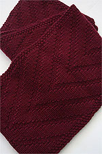 JADE SAPPHIRE Cashmere Scarf knitting kit for HIM Matt Pattern