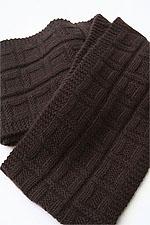 JADE SAPPHIRE Cashmere Scarf knitting kit for HIM Ken Pattern