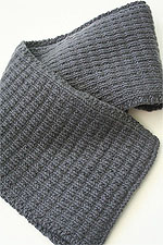 JADE SAPPHIRE Cashmere Scarf knitting kit for HIM Dave Pattern