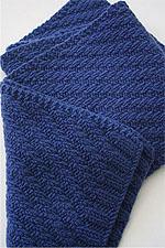 JADE SAPPHIRE Cashmere Scarf knitting kit for HIM Zach Pattern