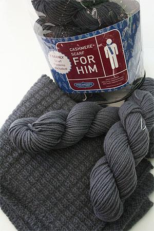 JADE SAPPHIRE KnitKits for Him in 5 O'Clock Shadow