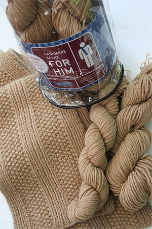 JADE SAPPHIRE KnitKits for Him in CEO Camel