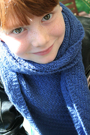 Jade Sapphire Scarf Kits for him in 7 Colors, 7 Patterns