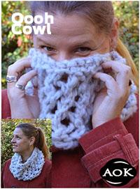 Jade Sapphire OOOH COWL Pattern