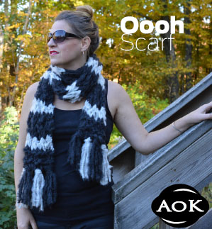 AOK OOOH Scarf Pattern