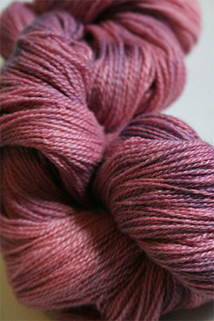 Jade Sapphire 2-Ply Cashmere Lace in Pink Granite