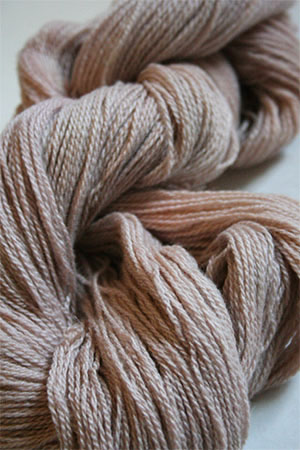 Jade Sapphire 2-Ply Cashmere Lace in Sandstone