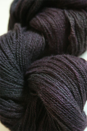 Jade Sapphire 2-Ply Mongolian Cashmere Lace in Black with Benefits