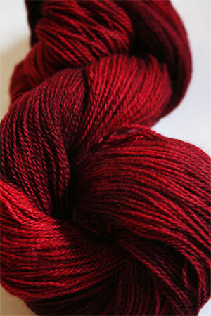 Jade Sapphire 2-Ply Cashmere Lace in Red Light District