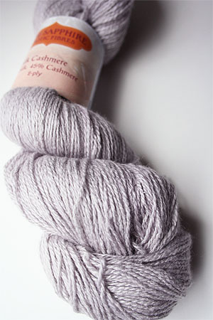 Silk and Cashmere Lace Knitting Yarn in 157 Moonstone