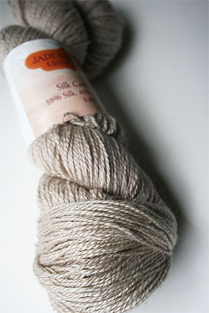 Silk and Cashmere Lace Knitting Yarn in 165 Stonehenge