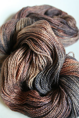 Silk and Cashmere Lace Knitting Yarn in 182 20 Shades of Brown