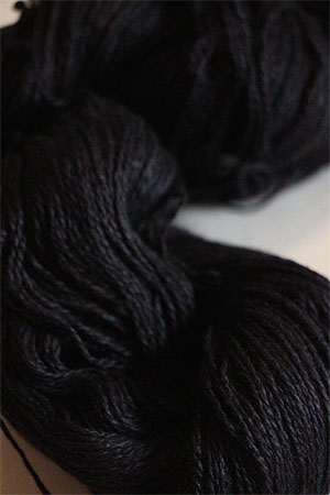 JADE SAPPHIRE Baby 2 ply Silk Lace Cashmere in 030 La Nuit