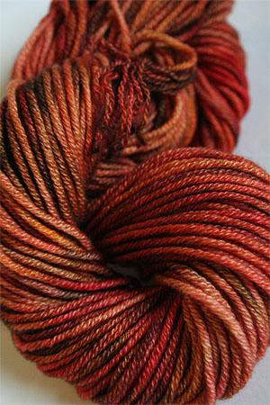 Jade Sapphire 8 Ply Cashmere Bulky 180 Orange Entendre