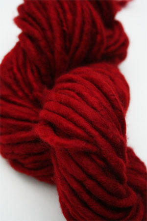Jade Sapphire Genghis Bulky Cashmere Yarn in Seeing Red