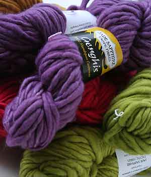 Bulky Cashmere Knitting Yarn