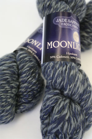 Jade Sapphire Moonlight Yarn in Blue Moon