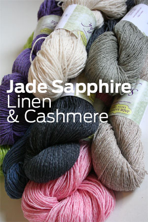 Jade Sapphire Sylph Linen and Cashmere