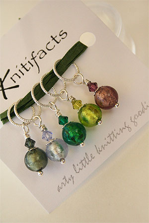 Knitifacts Luxury Yarn Stitch Markers