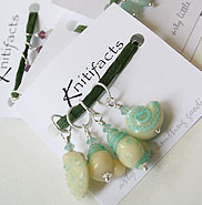 Knitifacts handcrafted stitch markers