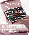 Royal Paris Set for the Holidays by Knitters Pride