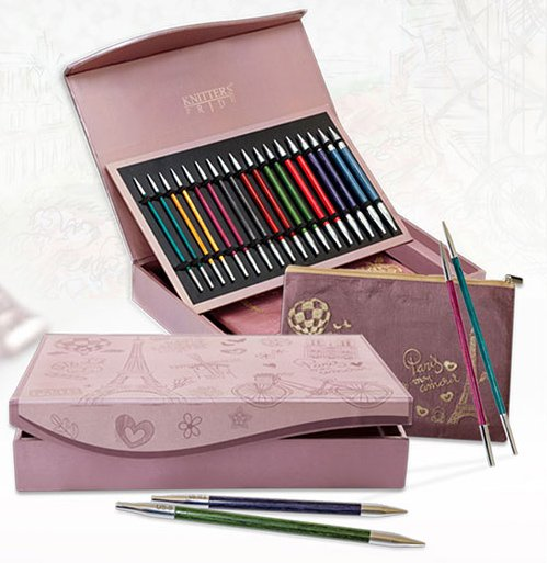 Knitters Pride ROYAL Paris Special Edition interchangeable knitting needle set
