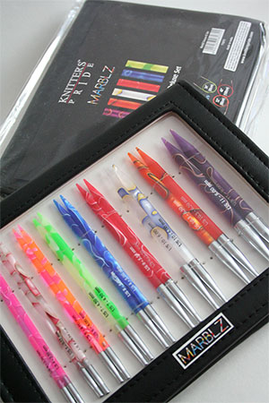 Knitters Pride Marblz Interchangeable Needle Set