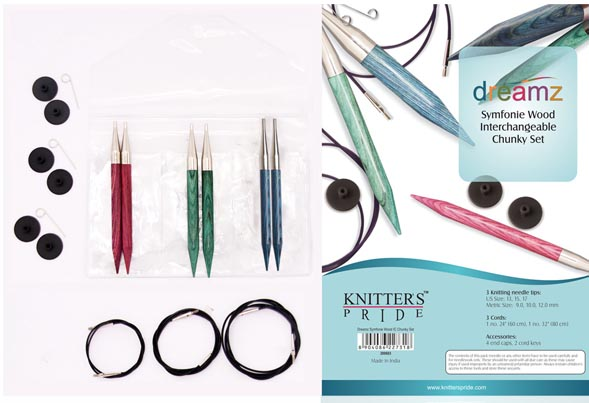 Knitters Pride Dreamz CHUNKY TIP Interchangeable Needle Set