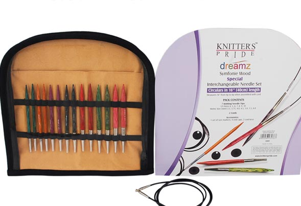 Knitters Pride Dreamz Special 16 Circular Needle Set