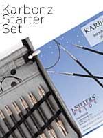 Knitters Pride KARBONZ Carbon Fiber Set