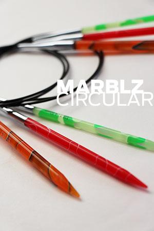 Knitters Pride Marblz Circular Needles