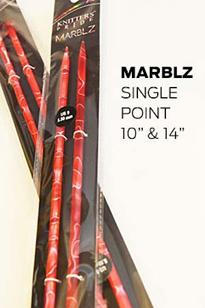Knitters Pride Marblz  SINGLE POINTS