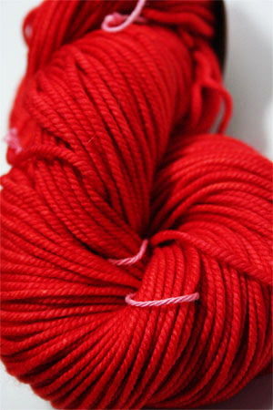 Madelinetosh Chunky in Neon Red