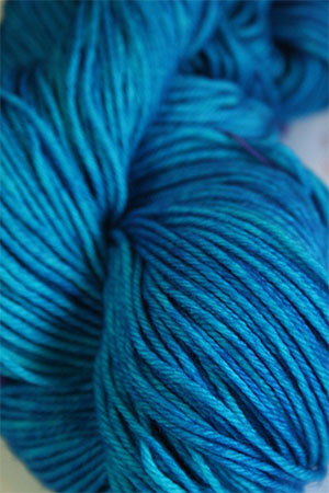 TOSH DK 4 ply merino yarn in Color Blue Nile