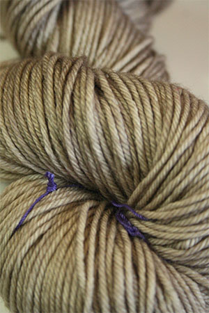 madelinetosh DK 4 ply merino wool yarn in  Antique Lace