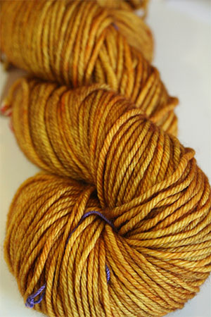 TOSH DK 4 ply merino yarn in Color Daffodil