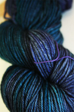 TOSH DK 4 ply merino yarn in Color Odyssey