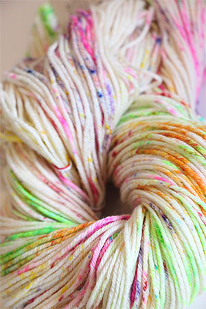 TOSH DK 4-Ply Yarn in color Holi Festival (307P)