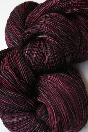 madelinetosh Tosh Merino Lace Yarn superwash 2 ply Merino Lace Yarn weight weight knitting yarn in Color Oxblood