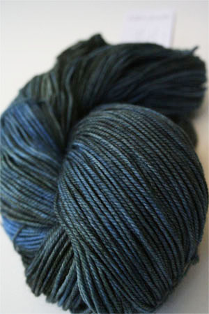 madelinetosh pashmina yarn in Worn Denim