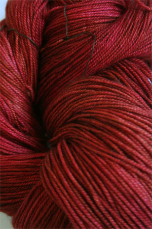 madelinetosh pashmina yarn in Robin Red Breast