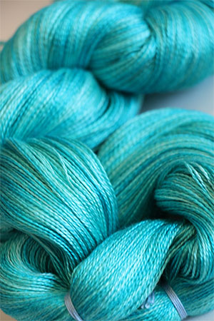 Tosh silk lace yarn by MadelineTosh in Glass Bottom Boat