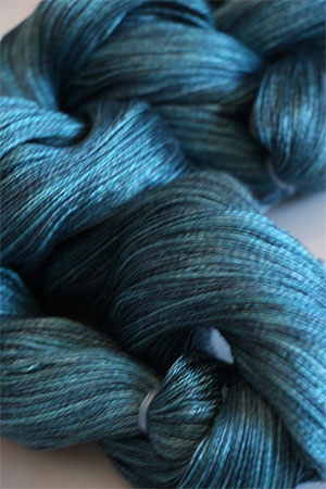 Tosh silk lace yarn by MadelineTosh in Undergrowth