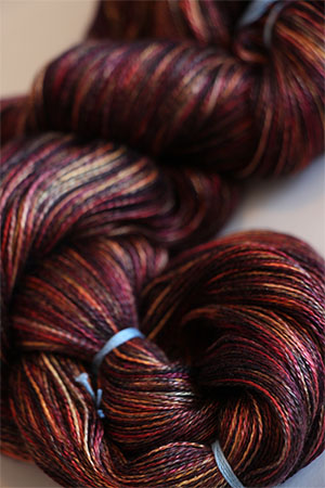 Tosh silk lace yarn by MadelineTosh in Rocky Mountain