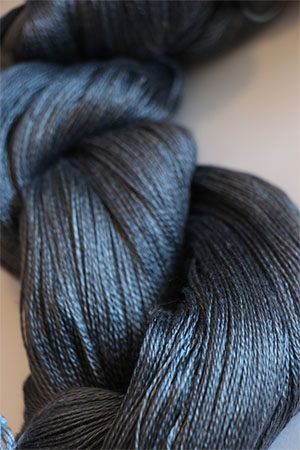 Tosh silk lace yarn by MadelineTosh in Geyser Pool