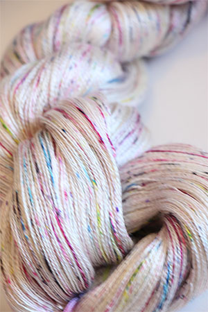 Tosh silk lace yarn by MadelineTosh in Found Pottery