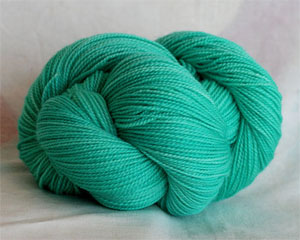 Tosh silk lace yarn by MadelineTosh in Button Jar Blue
