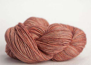 Tosh silk lace yarn by MadelineTosh in Nectar