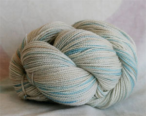 Tosh silk lace yarn by MadelineTosh in Sea Salt